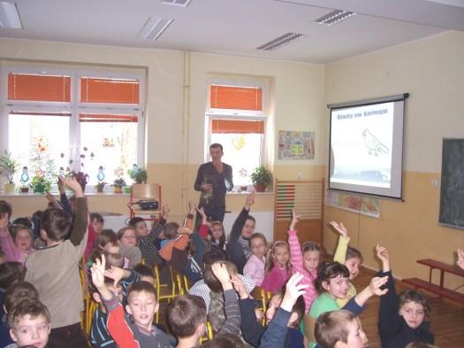 Prelekcja w Szkole Podstawowej w Goli gm. Jaraczewo 2010r.