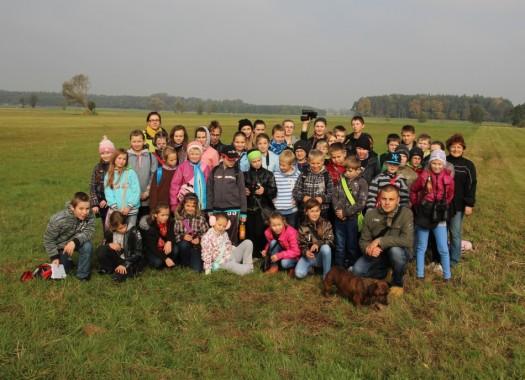 Europejskie Dni Ptaków, łąki w okolicy Jaraczewa gm. Jaraczewo 2012r.